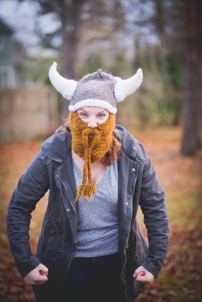 Alanna Wilcox viking helmet