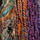 Novelty yarns - Core, Knots & Beads